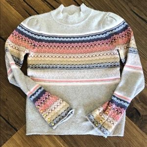 Anthropologie mock neck sweater